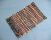 Dollhouse Rug Miniature Woven Rug Dollhouse Decor