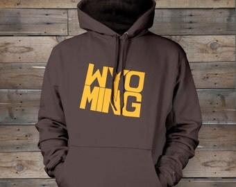 Wyoming Stately Hooded Sweatshirt