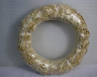 """2 8"""" Straw Wreaths"""
