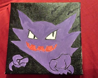 Pokemon Painting - Haunter
