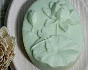 Green Tea & Goat Milk Artisan Soap - Handmade Soap, Homemade Soaps, Goats Milk Soap, Body Bar, Natural Soap Bar, Natural Bar Soap