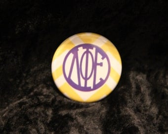 Delta Phi Epsilon Buttons (2 to choose from)