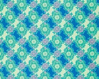 Caravelle Arcade Ruby Blue - 1/2yd