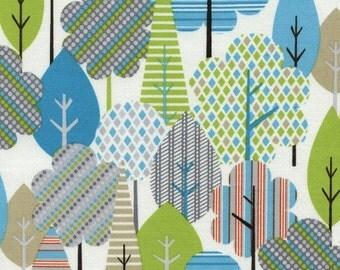 Trees 100% Cotton Quilting Fabric Fat Quarter