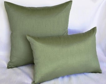 Deluxe Decorative Dupioni Pillow