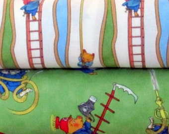 Richard Scarry Fabric By Quilting Treasures