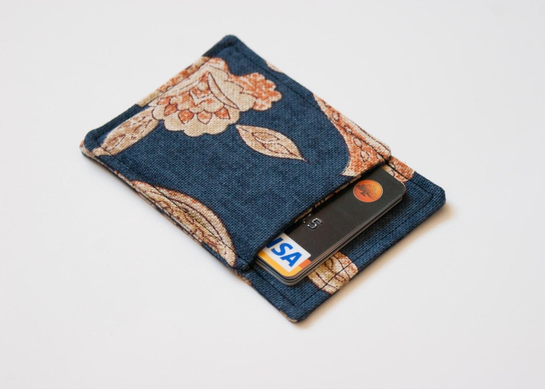 Front pocket wallet Business card holder Business card