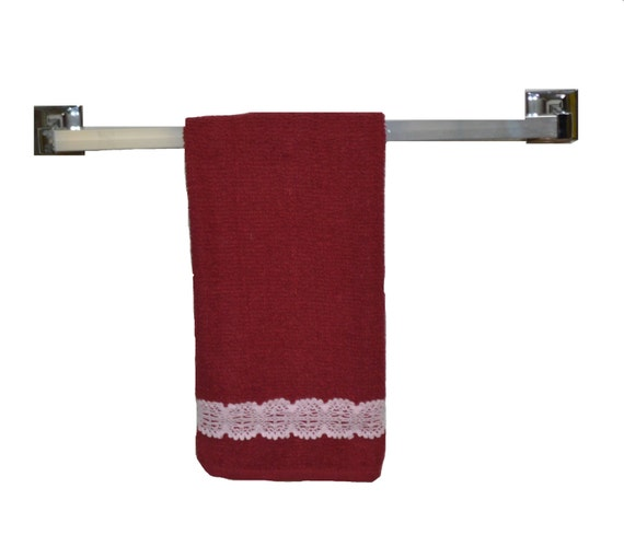 Red Kitchen Hand Towels: Red Hand Towel Bath Towel 16 1/2 X 26 Bathroom By