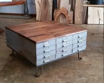 Repurposed Industrial Coffee Table