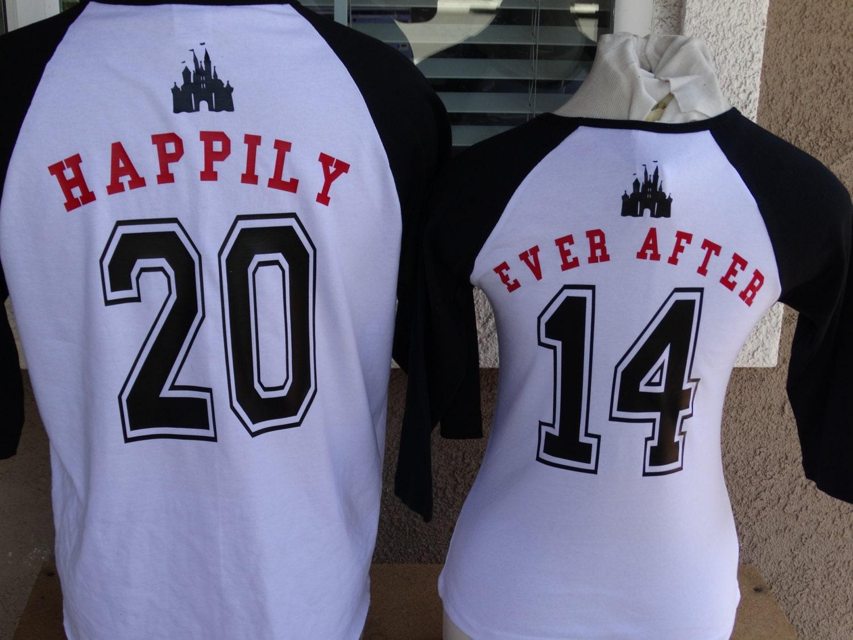 Couple shirt design for anniversary