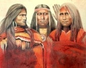 THE GOSSIPS - Native American portraits