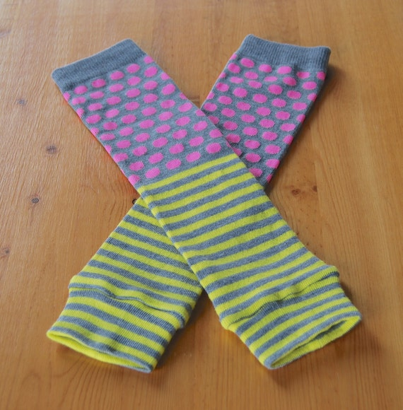 how to make baby leg warmers from fabric