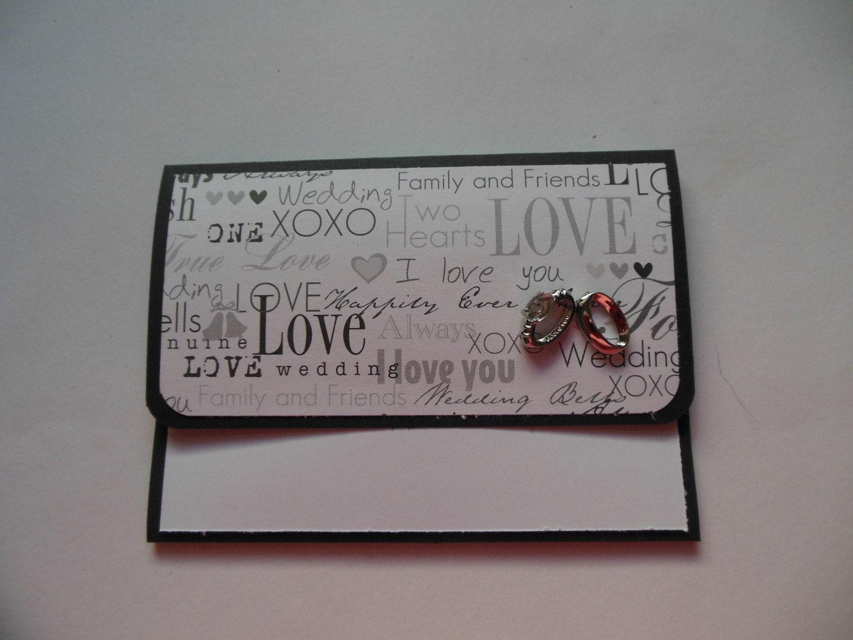 Wedding Gift Cards Online: Wedding Gift Card Holder Bridal Shower Gift By FlipFlopCards