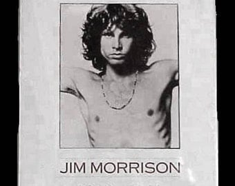 The DOORS Jim Morrison An American Poet POSTER 1943-1971 Issued 1991