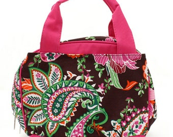 Personalized Insulated Lunch bag - Paisley Lunch Box