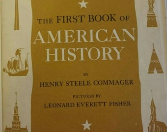 The First Book of American History.  Copyright 1957.
