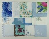 Lot of One Dozen Assorted Vintage Hankies Handkerchiefs (Lot #W11)