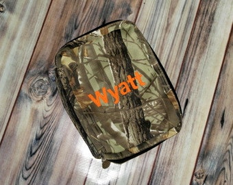 Camo Bible Cover - Personalized - With Monogram or Plain - Monogrammed or Blank - Camouflague - Father's Day - For Him - Gift
