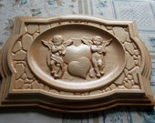 Cherub Wall Hanging Plaqu...