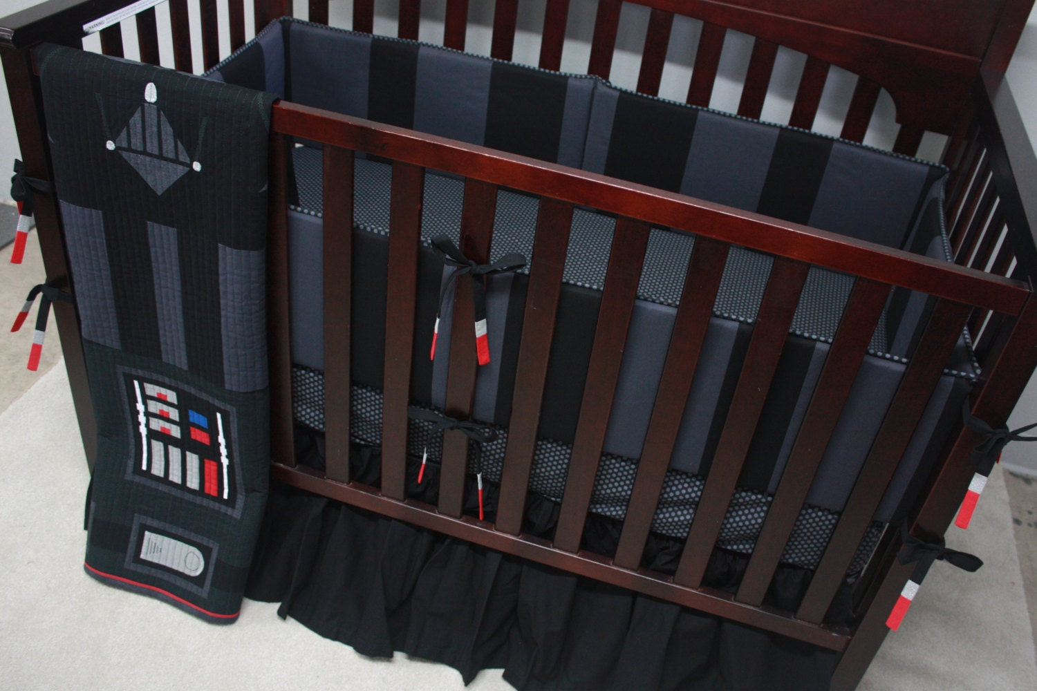 Star Wars Baby BeddingDarth VaderCustom Crib Bedding-MTO