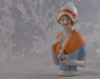 China Vintage Pincushion Doll