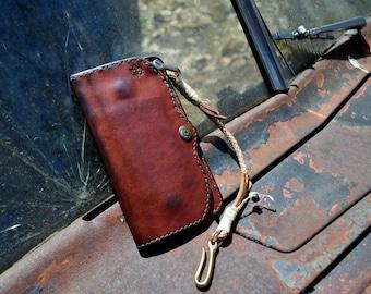 Long trucker wallet