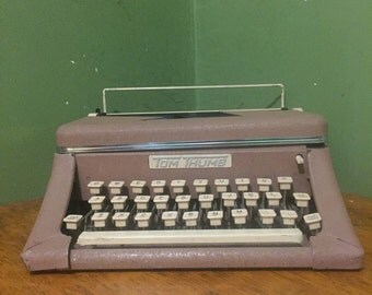 vintage happi-time typewriter 1950