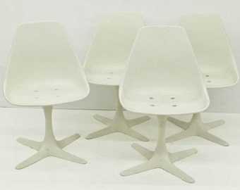 Burke Tulip Chairs, Vintage Great Condition.  no cushions