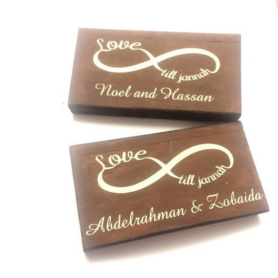 Wedding Gifts For Muslim Couples : Love until jannah muslim wedding gift, couple anniversary gift