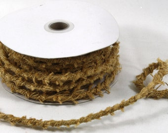8mm x 10Y Jute Rope Wire - Fall Harvest Halloween Decoration (JRW410)
