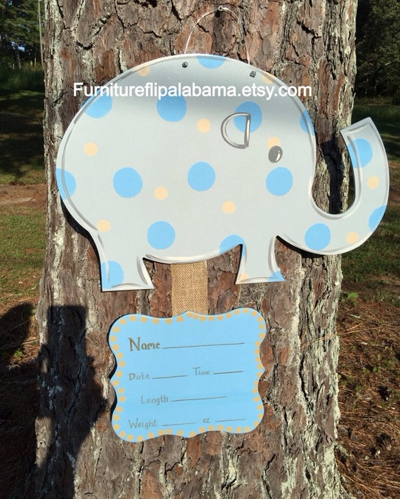 Items similar to hospital door hanger its a boy baby for Baby boy hospital door decoration