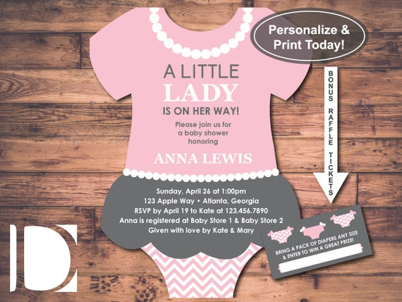 Trust image pertaining to printable onesie baby shower invitations