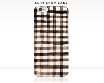 Gingham - iPhone 6 iPhone 7 Case