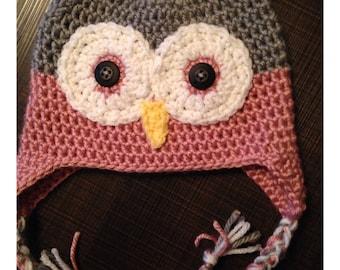 "Hat ""OWL"" - Owl Hat"