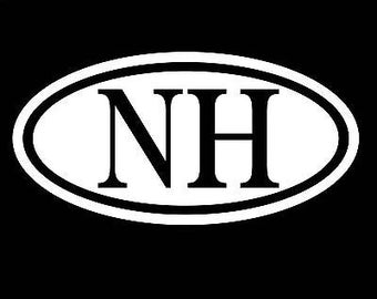 New Hampshire Sticker Nh Decal Car Window Vinyl Northeast New England