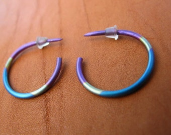 TRi-color Hoops