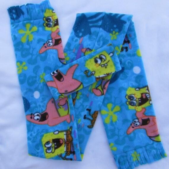 Sponge Bob fleece headband and scarf set size toddler and school age