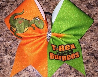 Burpees cheer bow