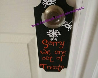 Halloween Door Knob Hanger