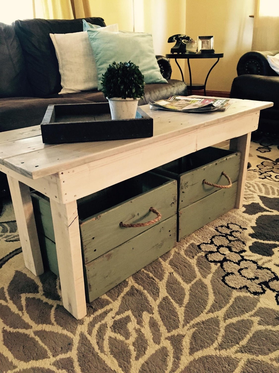 Coffee Table With Toy Storage Instacoffeetableus