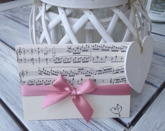 20 wedding invitations theme wedding music-Electra