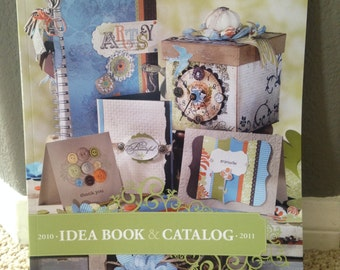 Stampin Up Idea Book and Catalog