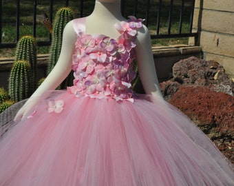 Shades of Pink Flower Girl Dress,Toddlers Pink Dress,Infant Pink Dress,Baby Pink Dress,Toddler Flowergirl Dress,Infant Pink Flowergirl Dress