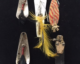 Vinage Fishing Lures--Complete Set of (5) For 10.00
