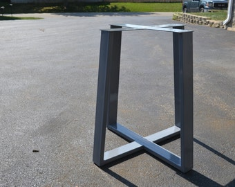 Industrial Style Metal Steel Tapered Table Base
