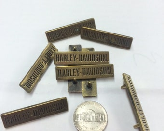 Lot of 10 Harley Davidson Decorative Pins