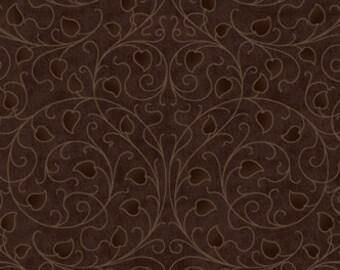 Dreamweaver - Brown (3DWA-2) - In The Beginning Fabric Fat Quarter