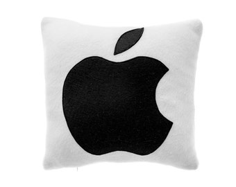 Apple Pillow, Decorative Pillow, Throw Pillow, Cushion Cover, Pillow Case