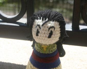 Crochet Mulan
