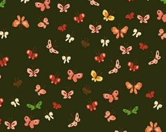 Tiger Lily - Butterflies Mud - Heather Ross - Windham (40933-8)